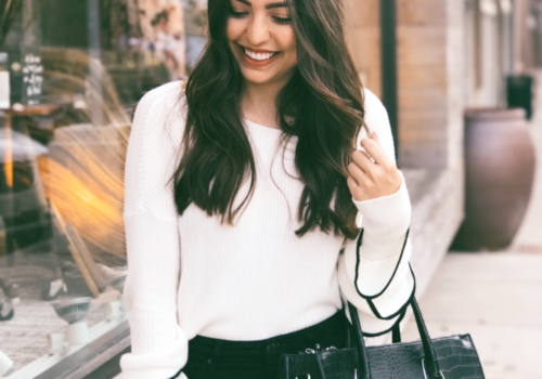 Ruffled Sweater + How to Stay Afloat at Work