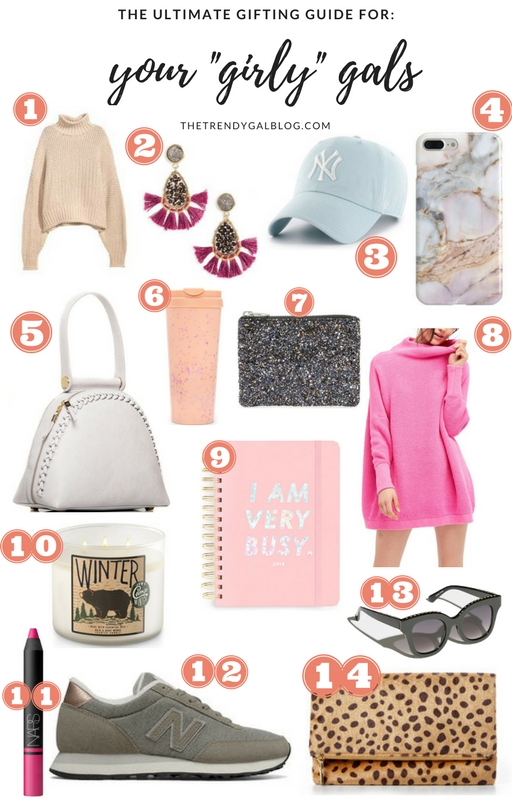 "Gift Guide for your ""Girly"" Friends!"