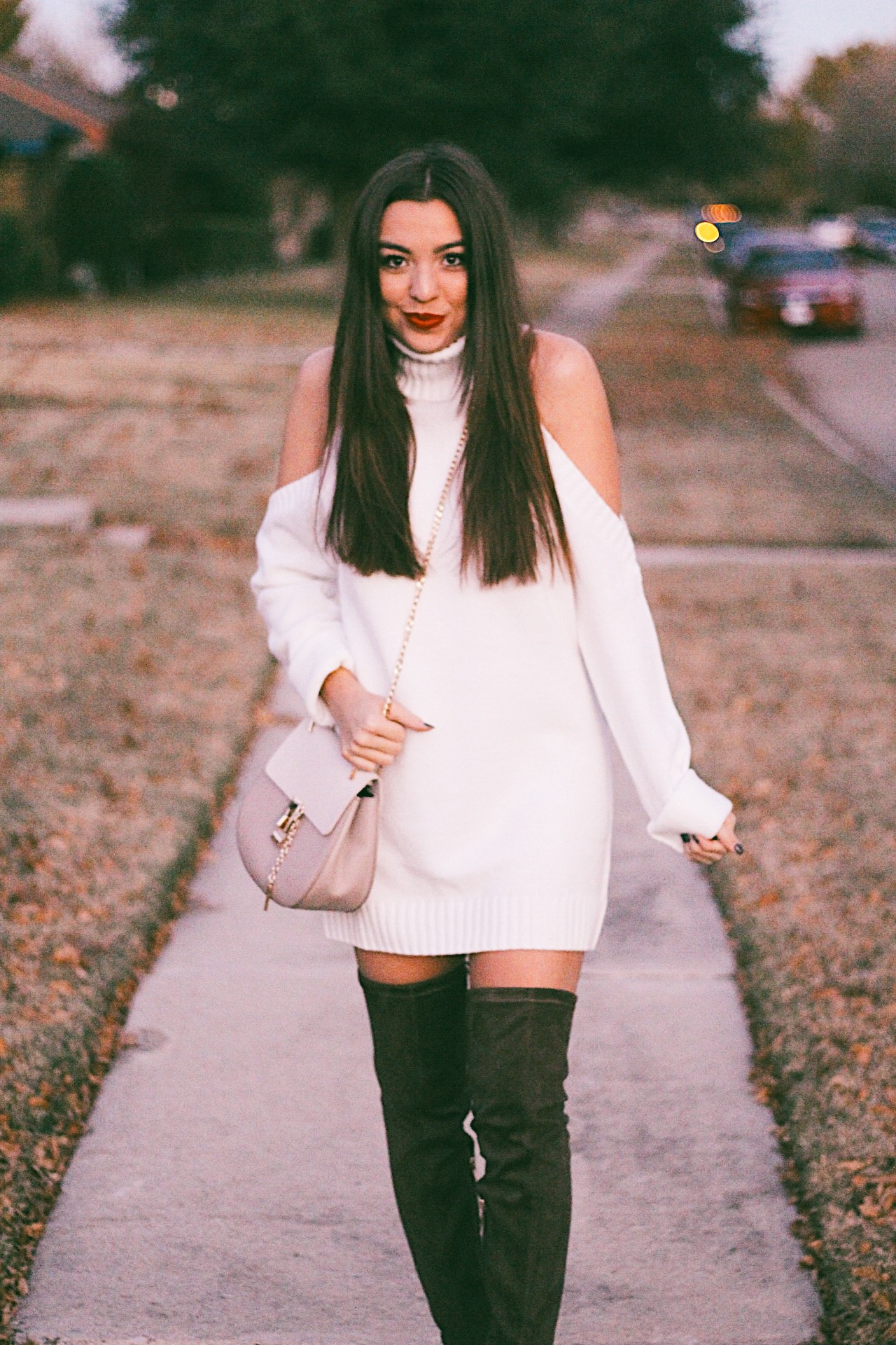 The Most Cozy Sweater Dress