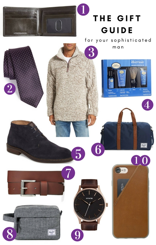 Gift Guide for Your Sophisticated and Sporty Guy